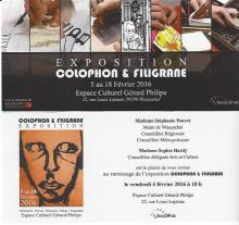 Colophon & Filigrane community Wasquehal (Fr)